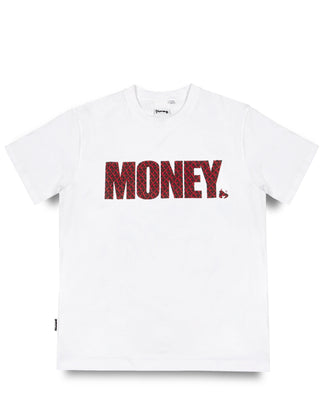 APE OUT BLOCK MONEY TEE WHITE
