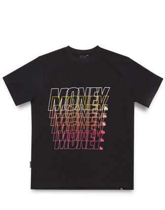 MONEY REPEATER TEE BLACK