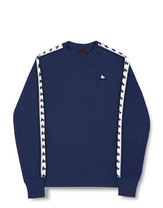 MONEY TAPE L/S TEE NAVY