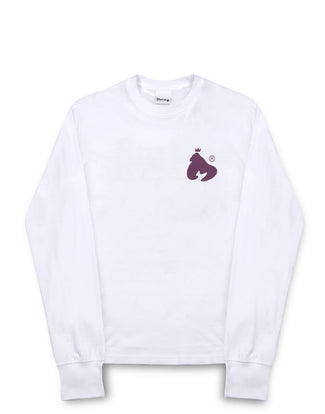 COLOUR PACK L/S TEE WHITE