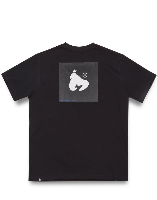 COLOUR PACK TEE BLACK