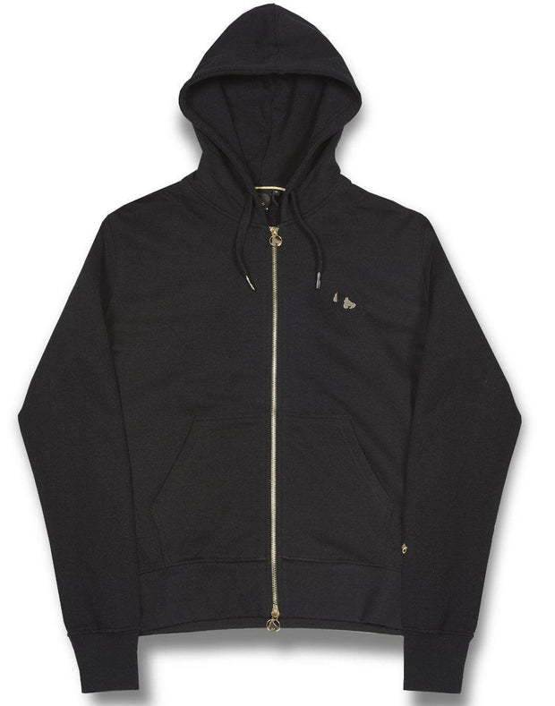 SIG OUT GRID ZIP HOOD
