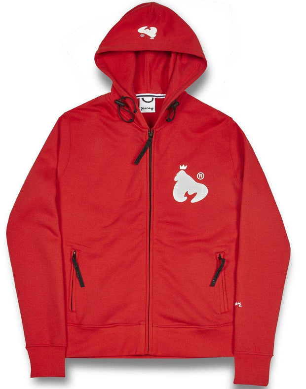 C FIT HOOD RED