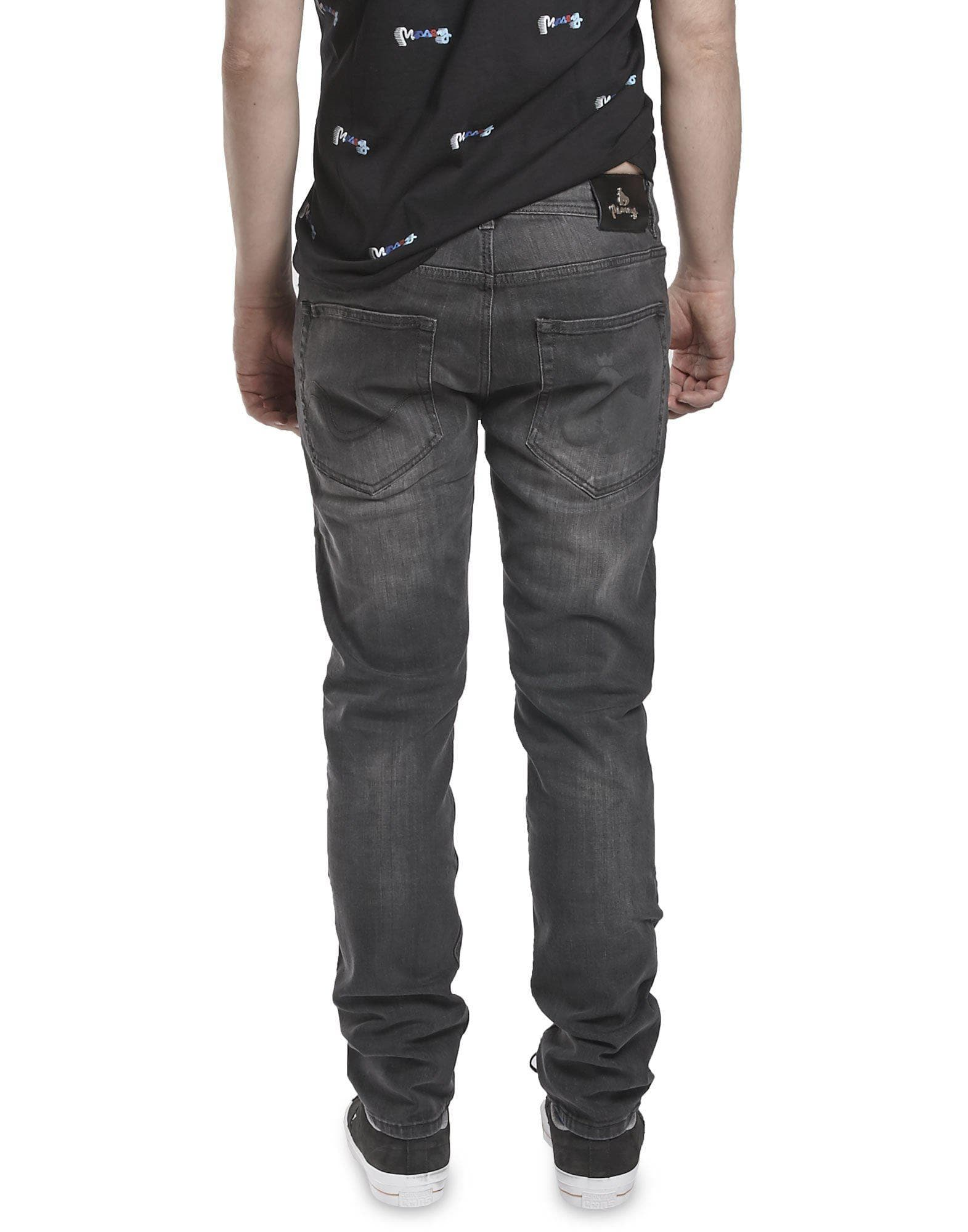 Money Light Grey Denim T