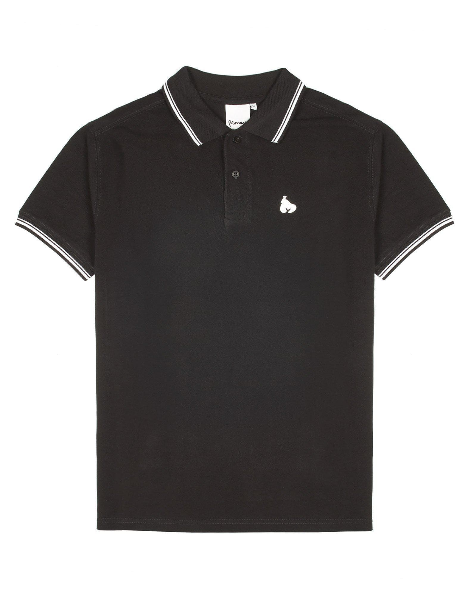 Money Clothing Double Stripe Polo Tee