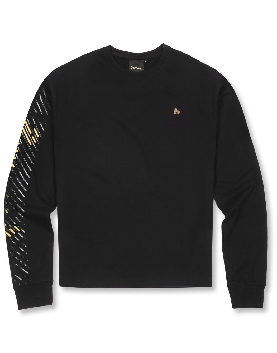 APE OUT GRID LONG SLEEVE TEE