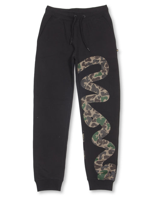 BLACK BIG SIG CAMO PANTS