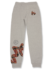 GREY BIG SIG CAMO PANTS
