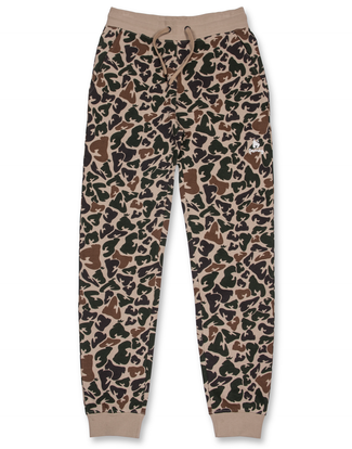 LIGHT CAMO TRACK PANTS