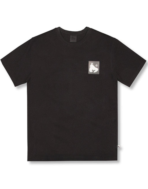 BLACK CLEAR PATCH LOGO TEE