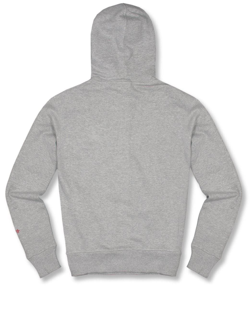 GREY COMBO MIX HOODY