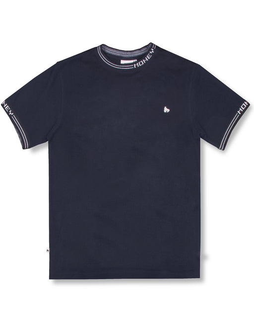 NAVY TIPPING TEE