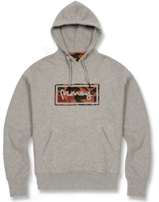 GREY SUPER STAR HOOD