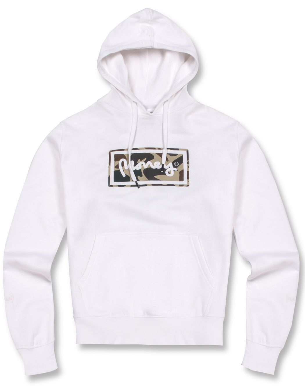 WHITE SUPER STAR HOOD