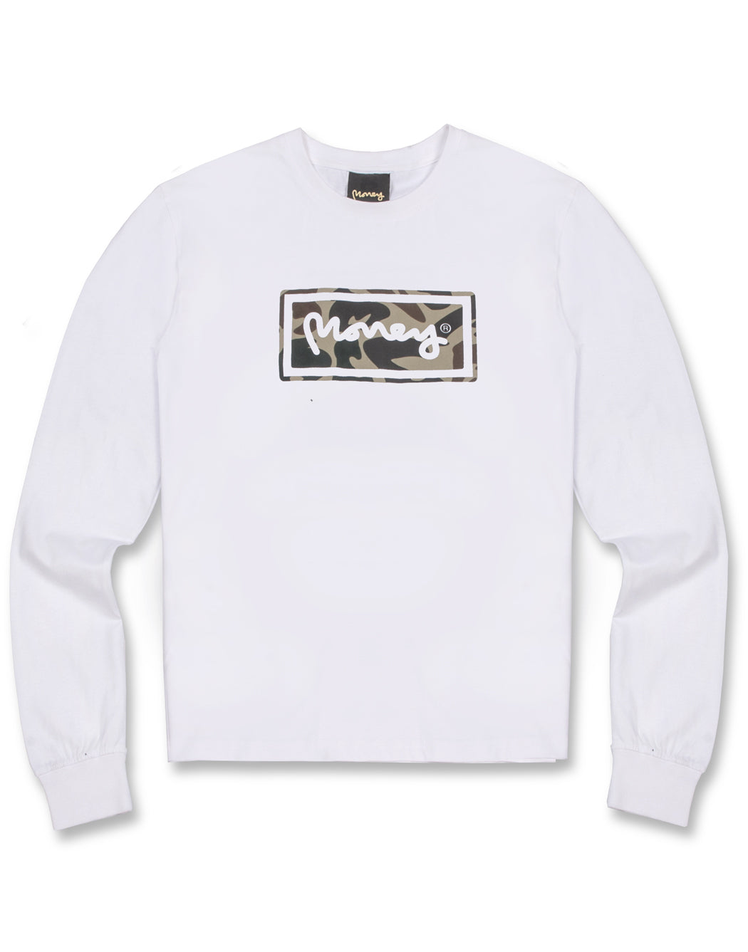 WHITE SUPER STAR L/S TEE
