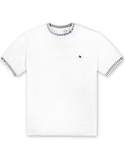 WHITE TIPPING TEE