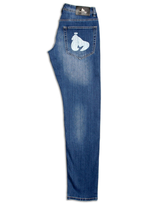 Money Mid Indigo Denim S