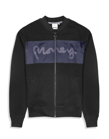 Money Clothing Nylon Mix Bomber