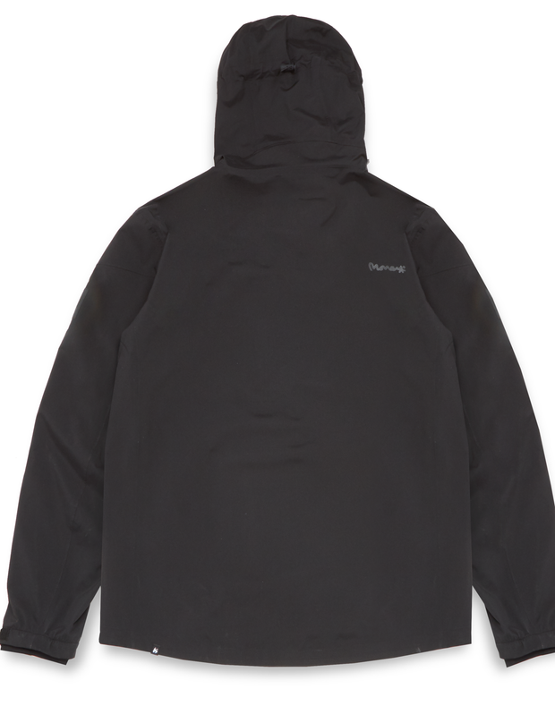 MONEY CLOTHING METRO WINDBREAKER BLACK