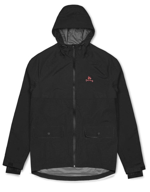 Money Clothing Shell Jacket in black