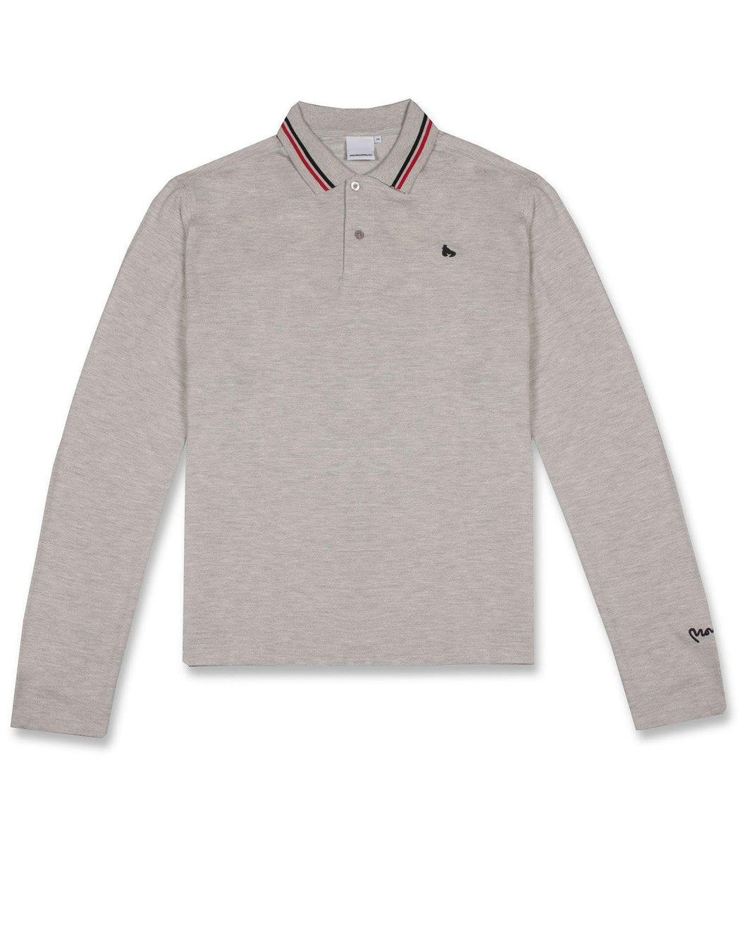 Two Stripe LS Polo
