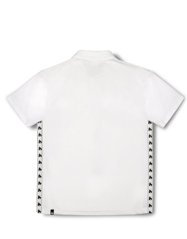 MONEY MESH POLO WHITE