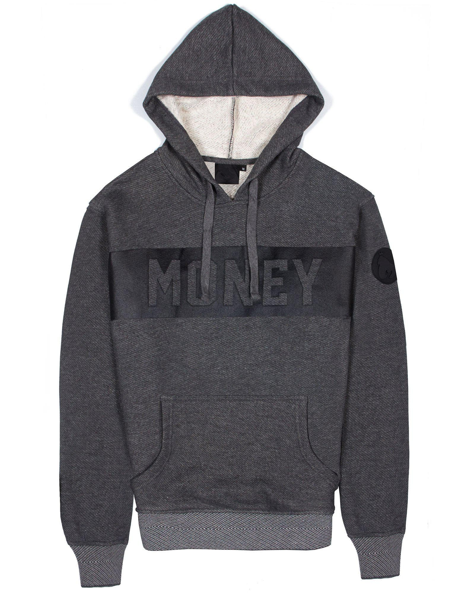 Punch Out Hood - Dark Grey Melange