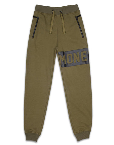 MONEY CLOTHING - PUNCH OUT TRACKPANT - OLIVE