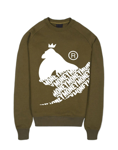 Money Clothing Rip Crew Neck