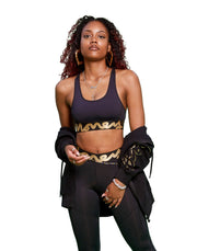 WMNS MONEY CHOP SIG TAPE SPORTS BRA