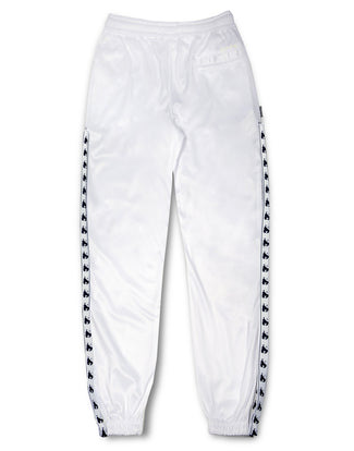 MONEY TAPE TRACK PANT WHITE