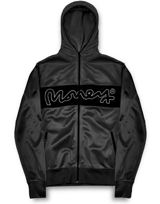 COLOUR PACK ZIP HOOD BLACK