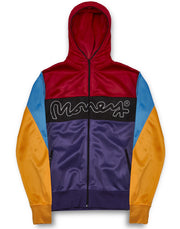 COLOUR PACK ZIP HOOD MULTI