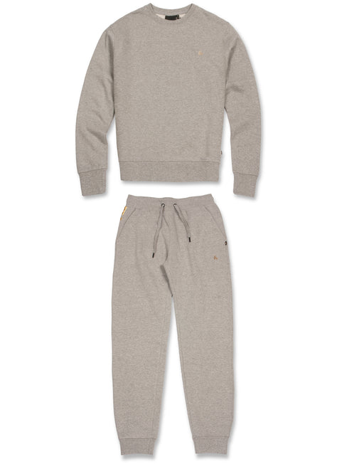 GREY SUPER FAT PRINTED CREW TRACKSUIT