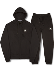 A-TRACK ZIP TRACKSUIT BLACK