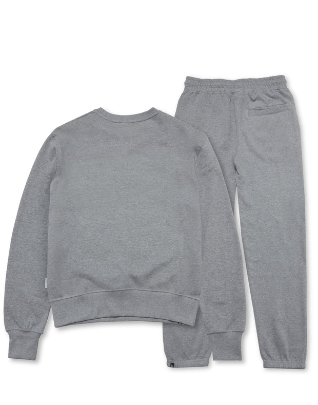 COMBO PATCH TRACK CREW GREY