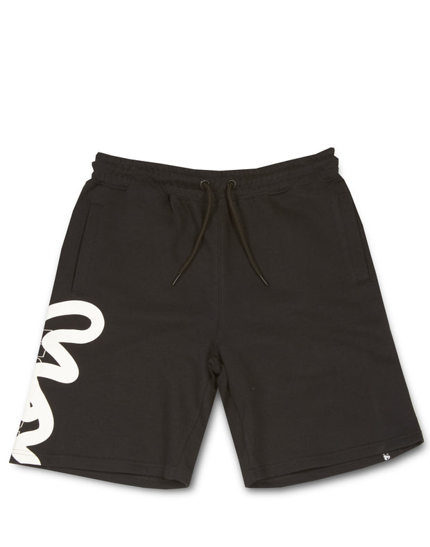 STENCIL BLOCK SHORT BLACK
