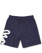 STENCIL BLOCK SHORT NAVY