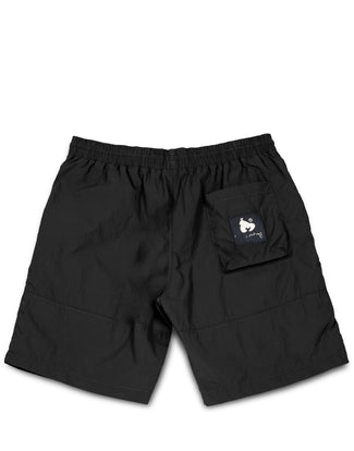 SHINE NYLON SHORT BLACK