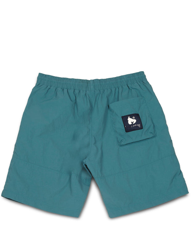 SHINE NYLON SHORT GREEN
