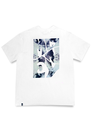 MONEY CLOTHING TRIP CUT TEE WHITE