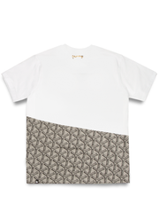 MONEY CLOTHING MONO SLICE TEE WHITE