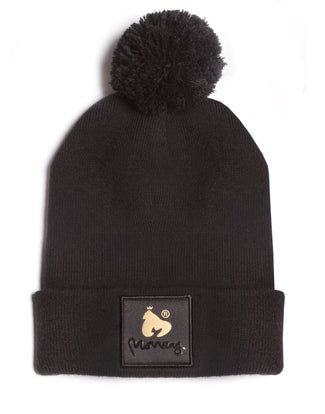 MONEY COMBO BOBBLE HAT BLACK