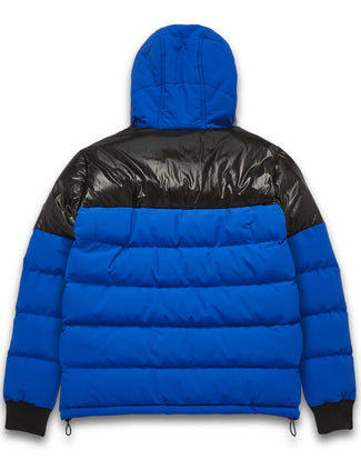 MONEY INTER-CITY PUFFER BLUE