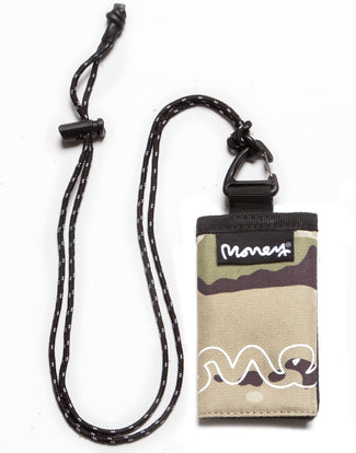 MONEY WALLET CHAIN MULTI CAMO