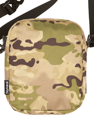 MONEY CLOTHING MULTI CAMO SHOULDER BAG