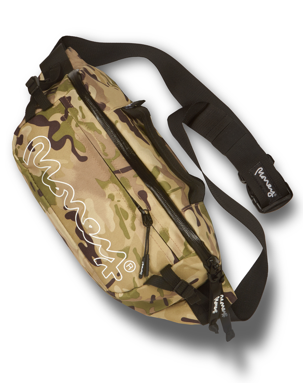 MONEY CLOTHING MULTI CAMO OUTDOOR WAIST BAG