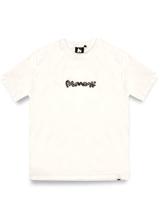 REAL CASH DOLLAR T-SHIRT OFF WHITE