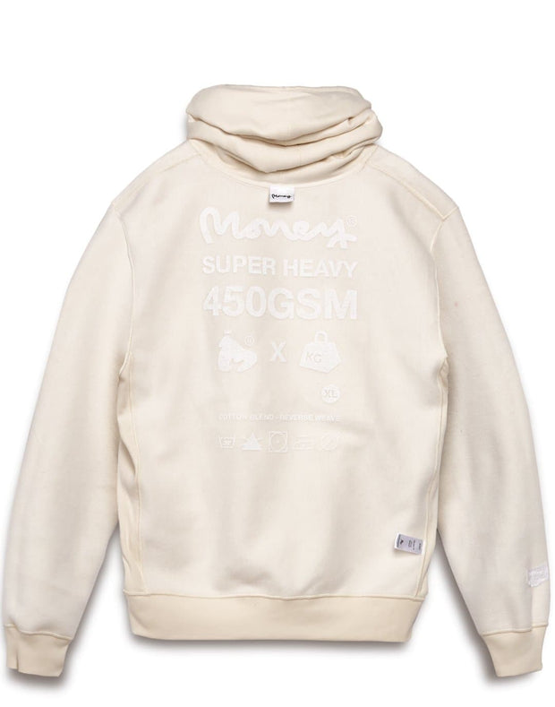 MONEY SUPER HEAVY HOOD OFF WHITE