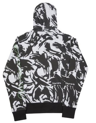 NIGHT CAMO HOODY BLACK